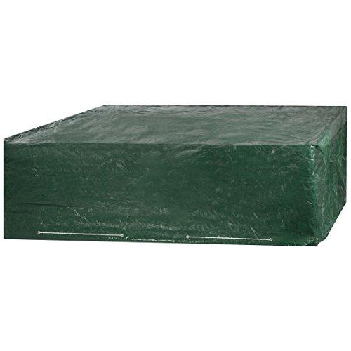 Ultranatura 1176 Cubierta Protectora para Muebles de jardín, Verde, 250x210x90 cm