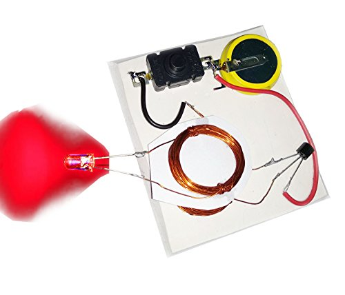 PGSA2Z Wireless Power Transmission School Science Project Working Model, DIY Kit, Science Game