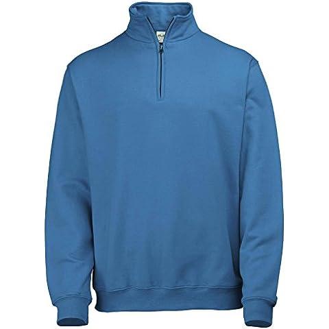 AWDIS Sophomore Zip Sweater - 12 Colore / Taglia SML-2XL