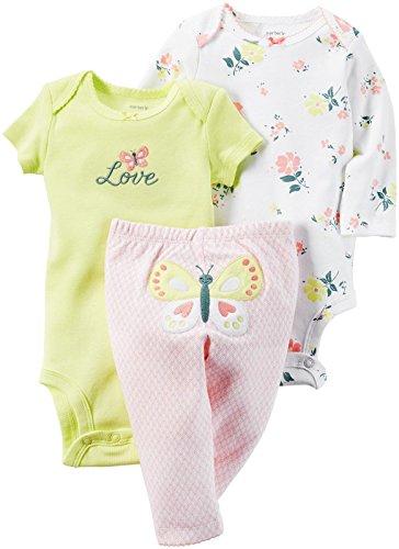 Carter's 3-Stück MIX 'N MATCH Baby / Kleinkind Mädchen Set (12 Monate) (3 Mädchen Stück Carters Kleinkind)