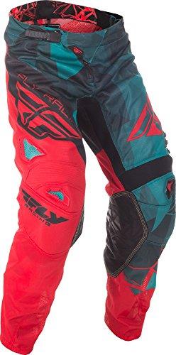 Fly Racing & Motocross Mesh Hose teal-rot-schwarz Fahrerhose Fly Motocross Hose