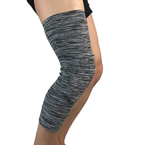 Itscominghome Outdoor Sport Reiten Knieschoner Basketball Schutz Beinarm Sport Leggings Schienbeinschienen für Laufen Leichtathletik Training UV-Schutz atmungsaktiv (2 Stück)
