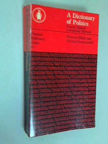 A dictionary of politics (Penguin reference books)