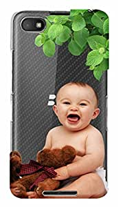 WOW Transparent Printed Back Cover Case For BlackBerry Z30