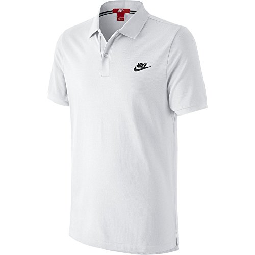 Nike Grand Chelem - Polo da uomo, Uomo, Grand Chelem Slim, bianco, XL