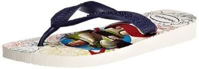 Havaianas Boys' K Toy Story Flip Flops White/Navy 8/9 UK Child (EU 27/28)