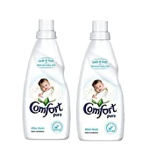 Comfort After Wash Pure Fabric Conditioner for Baby - 860 ml (Pack of 2)