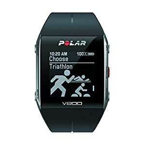 Polar V800 - Pulsómetro con GPS integrado, color negro
