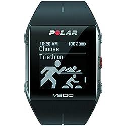 Polar V800 - Pulsómetro con GPS integrado, color negro