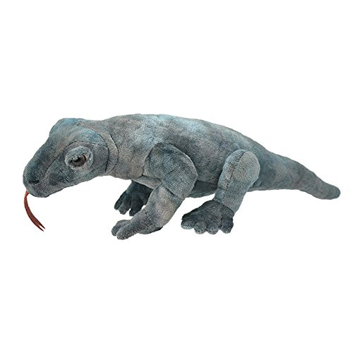 Wild Planet All About Nature-50 cm Dragon de Komodo-Hecho à Main, Peluche réaliste, Multicolore (K8262