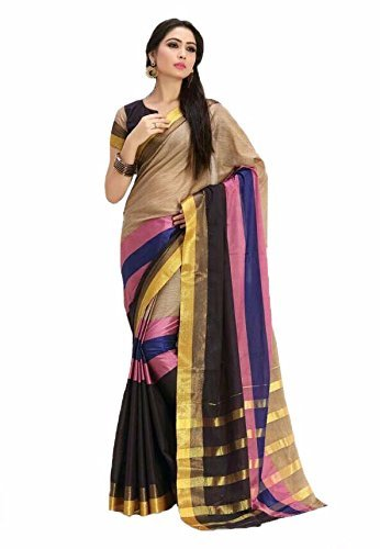 Raa retail women cotton silk saree party wear saree new latest collection designer wear saree for law price saree)  available at amazon for Rs.176
