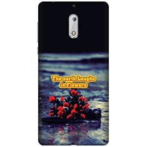 PrintlandDesignerHard Plastic Back Cover for Nokia 6 -Multicolor