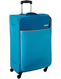 American Tourister Polyester 80 cms Turquoise Softsided Check-in Luggage (AMT JAMAICA SP 80CM TURQ)