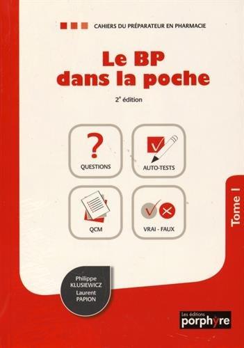 Le BP dans la poche : Pack en 2 volumes : Tome 1 et 2