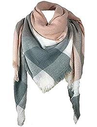 522c96f9e40d Amazon.fr   Plaid écossais - Echarpes et foulards   Accessoires ...