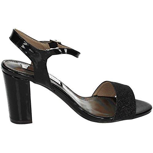 Xti 030583, Sandales Femme Noir
