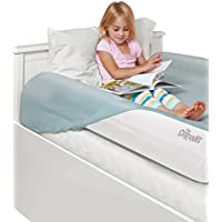 The Shrunks Sleep Security Inflatable Bed Rails (2 Pack) - Safe and Portable Toddler Bed Guard / Cot Bed Bumpers for Travel, Holiday or Home Use, 122x18x10cm fits under Bed Sheet