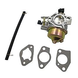 Cancanle Carburateur avec joint de tuyau de carburant pour Honda GX390 Moteur de pompe à eau Remplace 16100-ZF6-W31