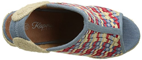 Kaporal Damen Romane Pumps Multicolore (Multicolor Denim)
