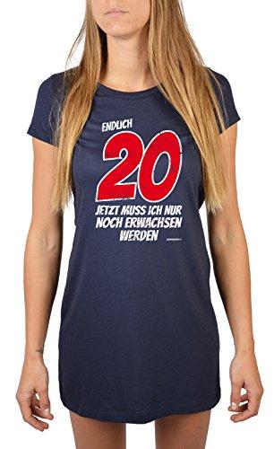 Geschenk Zum 20 Geburtstag Fur Frauen Nachthemd Endlich 20 20 Jahre