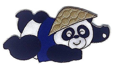 bestickt Nähen Eisen auf Patch Cartoon Nähen Eisen auf bestickte Applikation Craft handgefertigt Baby Kid Girl Frauen Tücher DIY Kostüm Zubehör (Diy Panda Kostüme)