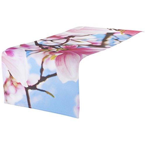 Angelina (TM) Jardin extérieur Chemin de Table Chemin de Table Nappe Table décoratifs résistant à l'eau 40 cmx142 cm
