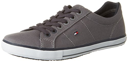 Tommy Hilfiger  S3285ammie 9d1, Sneakers basses garçon Gris (Steel Grey)