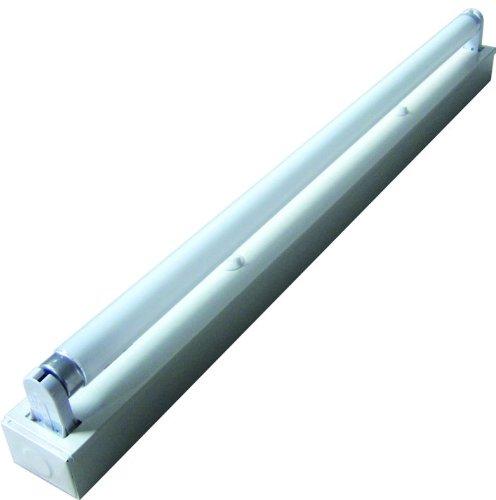Electraline 65032 Plafoniera al Neon Standard, T8 1x36W, Luminosità 3350, Dimensioni 1230x40x60