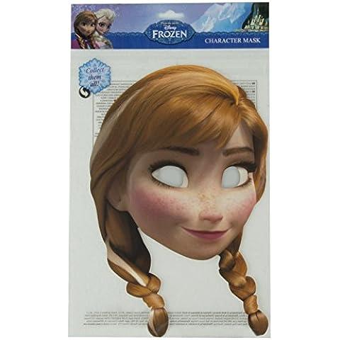 Princesas Disney - Máscara de Anna, para niñas, color beige (Rubie's FRANN01)