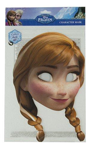 Frozen - Anna, máscara de disfraz, talla única (Rubie'S Spain FRANN01)