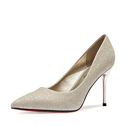 Zapatos De Tacón Alto De Primavera Y Verano De Las Mujeres...