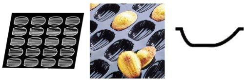 Flexipan 336390 Madeleines Nonstick Sheet Mold by Matfer Bourgeat Flexipan Non-stick Sheet