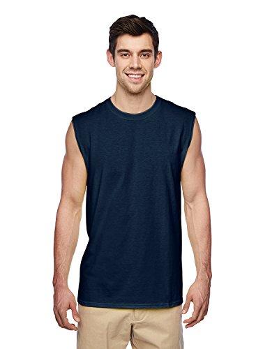 Adulti senza maniche Shooter t-shirt. 29SR J Navy