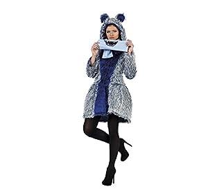 Limit Sport - Disfraz abrigo y bufanda de monstruo para adultos, talla L (MA687)