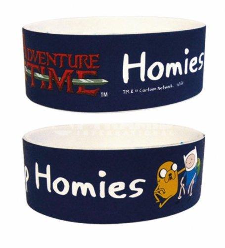 Adventure Time Homies Help Homies Gummi Armband