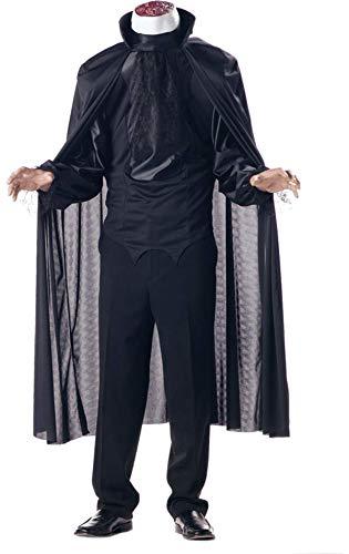California Kostüm-cs97512/L-Kostüm Mann ohne Kopf Größe (Ohne Kopf Halloween Kostüm)