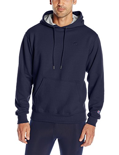 champion-sweat-a-capuche-manches-longues-homme-bleu-medium