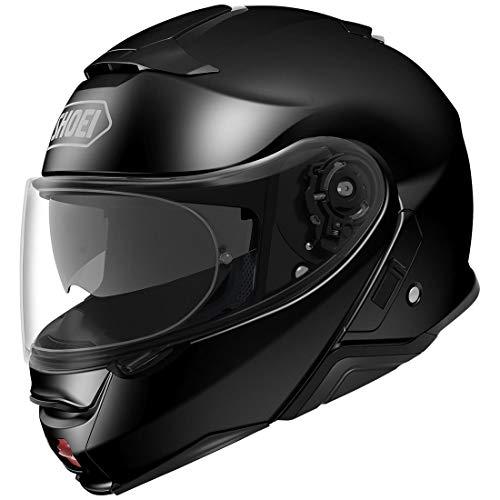 Shoei Neotec 2 Lucido Nero Modulare Motociclo Casco Taglia XXS