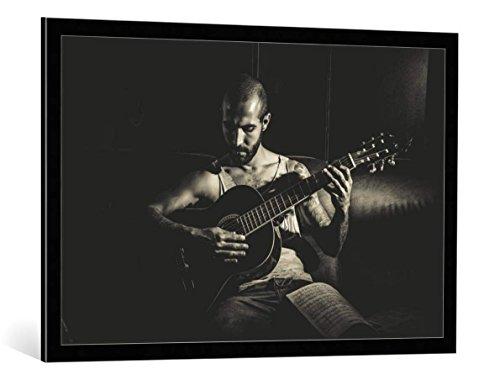 quadro-con-cornice-diego-rodarte-music-stampa-artistica-decorativa-cornice-di-alta-qualita-100x65-cm