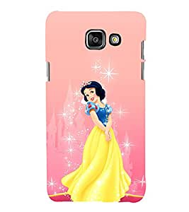 EPICCASE disney princess Mobile Back Case Cover For Samsung Galaxy A3 (2016) (Designer Case)