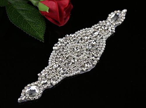 Queendream all' ingrosso strass applique applique perla cristallo STRASS Trim