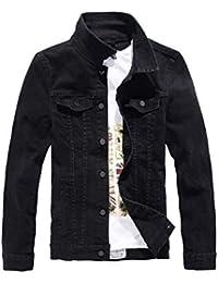 Emmala Chaqueta Mezclilla Chaquetones Chaqueta Hombres Abrigos Jeans Casual Chaqueta Mezclilla Formal Mezclilla Larga Chaquetas Otoño