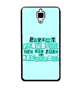 PRINTSWAG QUOTE Designer Back Cover Case for XIAOMI MI4