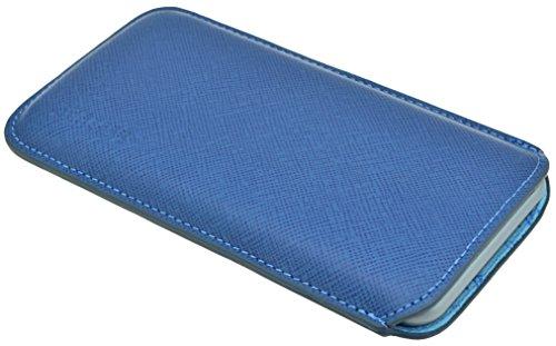 """Suncase étui pour iPhone 6 (4,7 """") en cuir ultra slim *top couleurs - 20 vollnarbig-blau"""