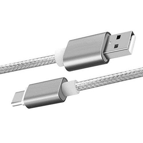 merfinova nailon trenzado Cable USB tipo C cargador rápido USB C 3.1Tipo...