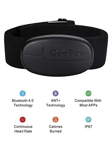 CooSpo Monitor frecuencia Cardiaca Sensor Frecuencia