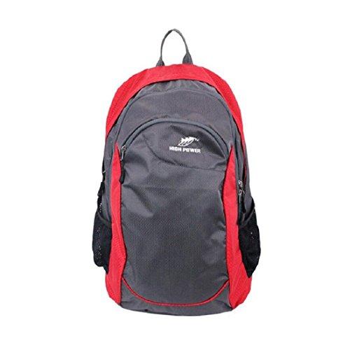 Z&N 30-35 Liter Fassungsvermögen leichter Outdoor-Freizeit-Rucksack wasserdichte und langlebige Schüler-Tasche Multifunktions-Sport-Fitness-Laufgepäck Tasche E