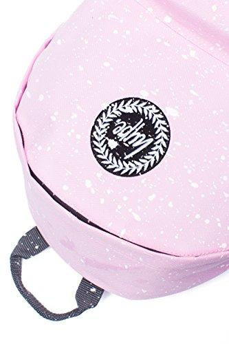 Hype Rucksack Tasche - Verscheidene Farben Rosa/Weiß