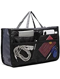 Kono Ladies Tidy Travel Insert Handbag Cosmetic Organiser Purse Large Liner Bag Pouch Make up Bag