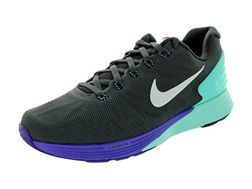 Nike Women's Mdm Ash, Blk, Hypr Trq, Hypr Grp Medash, Noir, Hyprtq and Violet Running Shoes - 7 UK/India (41 EU)(8 US)  available at amazon for Rs.7496